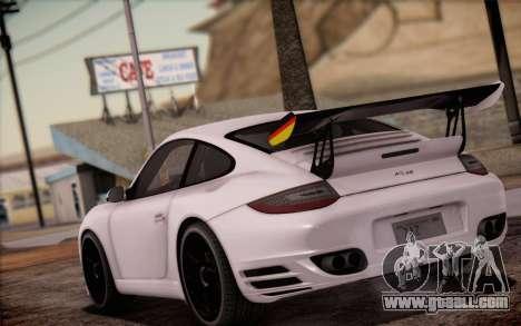 RUF RT12R for GTA San Andreas engine