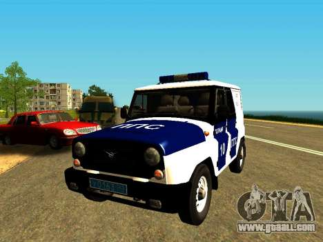 UAZ Hunter PPP for GTA San Andreas