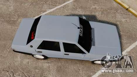 Tofas Sahin for GTA 4 right view