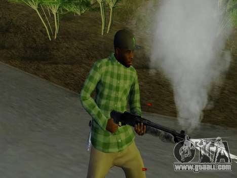 The Grove Street gang member of GTA 5 for GTA San Andreas