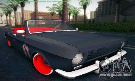 GAZ Volga 24 Cabriolet for GTA San Andreas left view