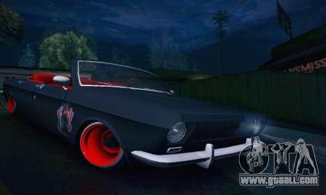 GAZ Volga 24 Cabriolet for GTA San Andreas side view