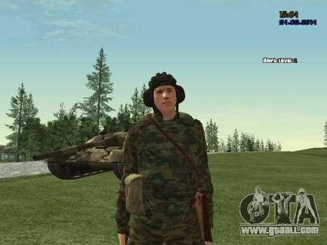 Tankman for GTA San Andreas forth screenshot