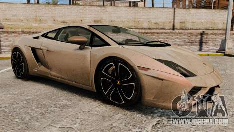Lamborghini Gallardo 2013 v2.0 for GTA 4 side view