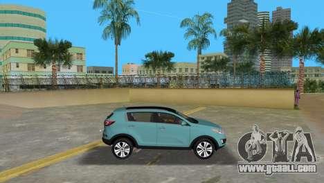 Kia Sportage for GTA Vice City left view