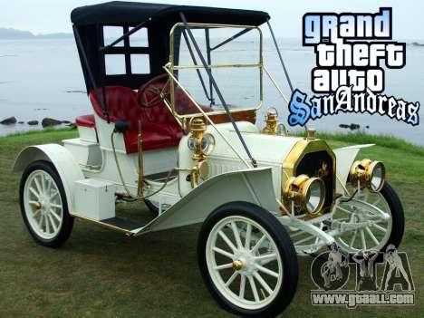 New loadscreen Old Cars for GTA San Andreas eighth screenshot