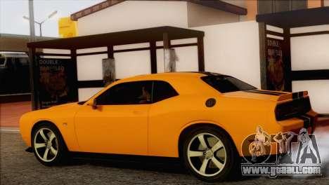 Dodge Challenger SRT8 2012 HEMI for GTA San Andreas left view