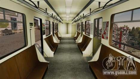 The head of Metro wagon 81-717 model for GTA 4 second screenshot