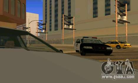 Ford Crown Victoria Police LV for GTA San Andreas wheels