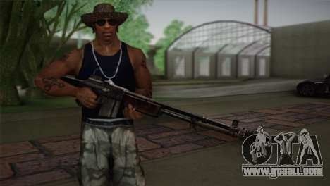 Browning M1918 for GTA San Andreas third screenshot