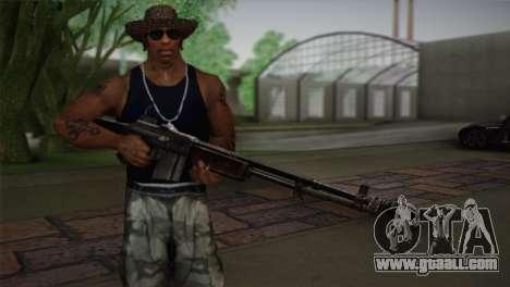Browning M1918 for GTA San Andreas third screenshot