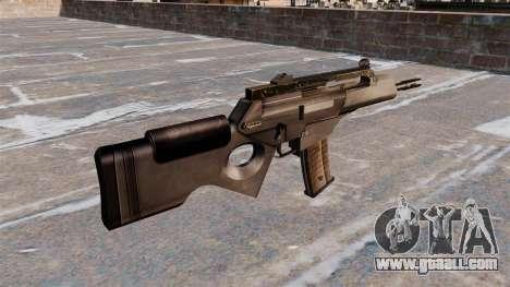 HK SL8 rifle of Bullpup for GTA 4 second screenshot