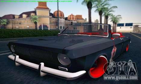 GAZ Volga 24 Cabriolet for GTA San Andreas