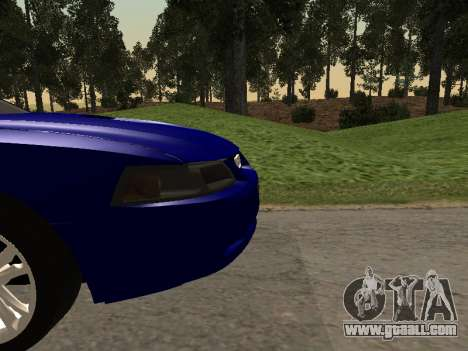 Ford Mustang GT 1999 for GTA San Andreas back view
