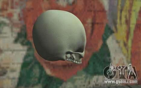 Skull for GTA San Andreas second screenshot