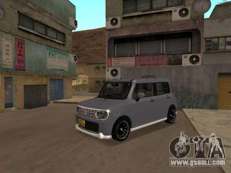 Suzuki Alto Lapin for GTA San Andreas left view