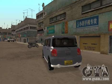 Suzuki Alto Lapin for GTA San Andreas right view