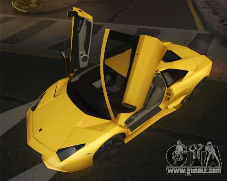 Lamborghini Reventon 2008 SLOD for GTA San Andreas right view