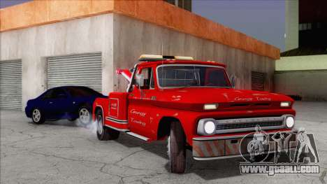 Chevrolet C20 Towtruck 1966 1.01 for GTA San Andreas