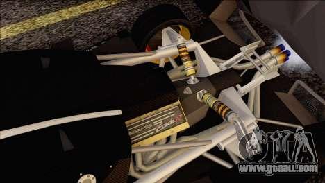 Pagani Zonda R SPS v3.0 Final for GTA San Andreas interior