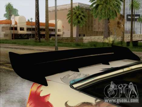 Uranus Grand Chase Texture for GTA San Andreas back view