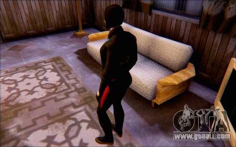 Lady Shiva in the game Batman Arkham Origins for GTA San Andreas third screenshot