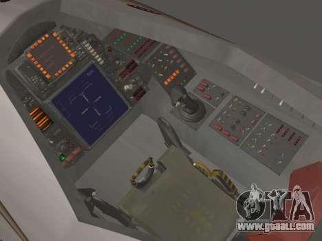FARSCAPE modul for GTA San Andreas side view