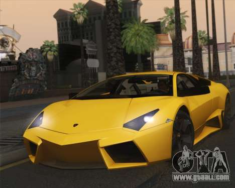 Lamborghini Reventon 2008 SLOD for GTA San Andreas