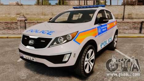 Kia Sportage Metropolitan Police [ELS] for GTA 4