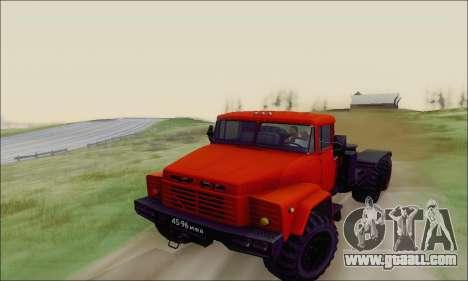 KrAZ 260v for GTA San Andreas side view