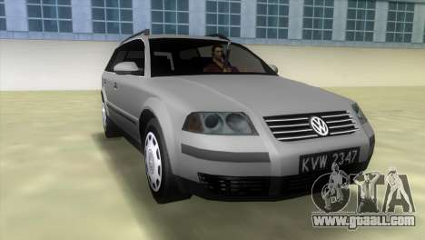 Volkswagen Passat B5+ Variant 1.9 TDi for GTA Vice City