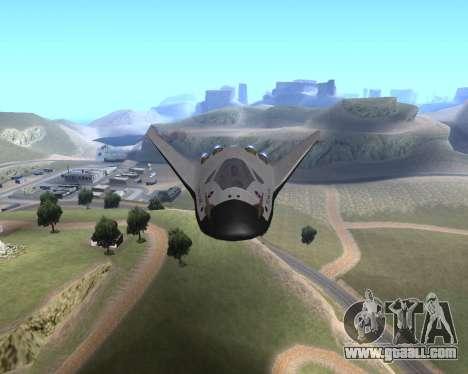 FARSCAPE modul for GTA San Andreas back view