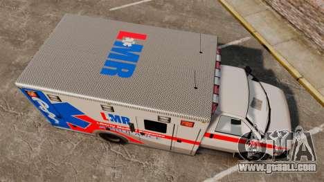 Brute Liberty Ambulance [ELS] for GTA 4 right view
