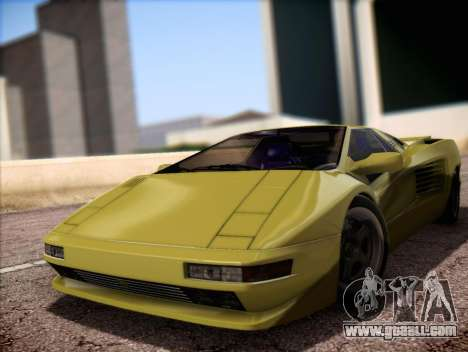 Cizeta Moroder V16T 1988 for GTA San Andreas