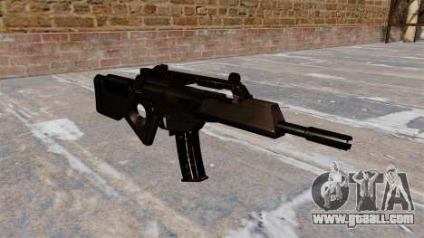 HK SL8 rifle of Bullpup for GTA 4