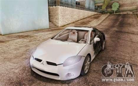 Mitsubishi Eclipse GT v2 for GTA San Andreas back view