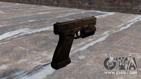 Self-loading pistol Glock 20 for GTA 4 second screenshot