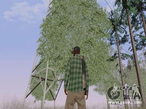 The Grove Street gang member of GTA 5 for GTA San Andreas sixth screenshot