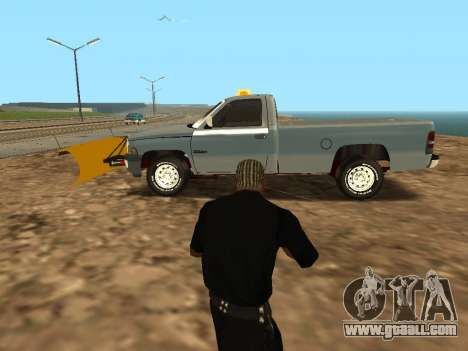 Dodge Ram for GTA San Andreas left view