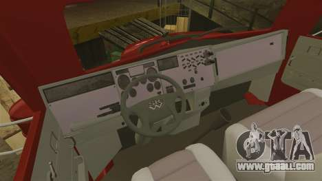 Mini truck for GTA 4 back view