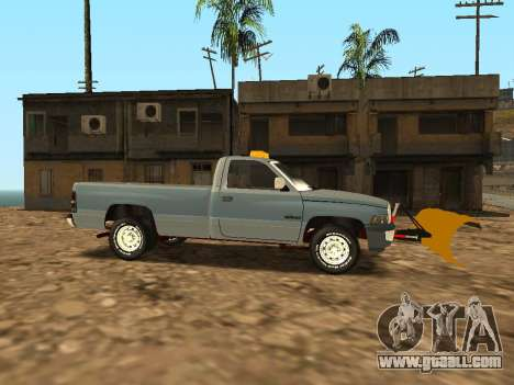 Dodge Ram for GTA San Andreas back view
