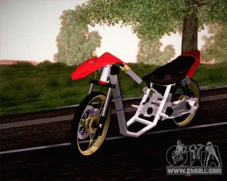 Yamaha Mio for GTA San Andreas