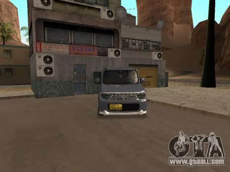 Suzuki Alto Lapin for GTA San Andreas back left view