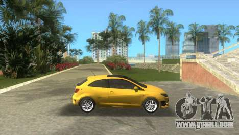 Seat Ibiza Cupra for GTA Vice City left view