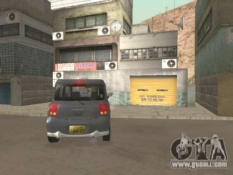 Suzuki Alto Lapin for GTA San Andreas side view