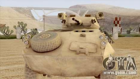 LAV-25 Desert Camo for GTA San Andreas back left view
