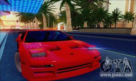 Acura NSX Drift for GTA San Andreas inner view
