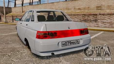 Vaz-2110 for GTA 4 back left view