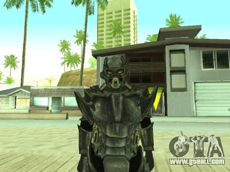 New skin from Fallout 3 for GTA San Andreas