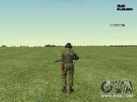 Tankman for GTA San Andreas seventh screenshot